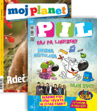 KOMPLET REVIJ MOJ PLANET + PIL