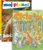 KOMPLET REVIJ MOJ PLANET + CICIBAN