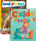 KOMPLET REVIJ MOJ PLANET + CICIDO