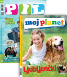 KOMPLET REVIJ PIL + MOJ PLANET