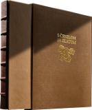 BIBLIOFILSKA IZDAJA S ČRNILOM IN ZLATOM