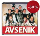 KOMPLET 4 CD: ANSAMBEL BRATOV AVSENIK