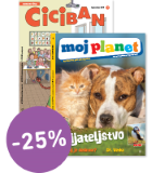 KOMPLET REVIJ CICIBAN + MOJ PLANET