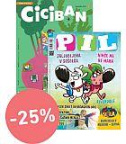 KOMPLET REVIJ CICIBAN + PIL